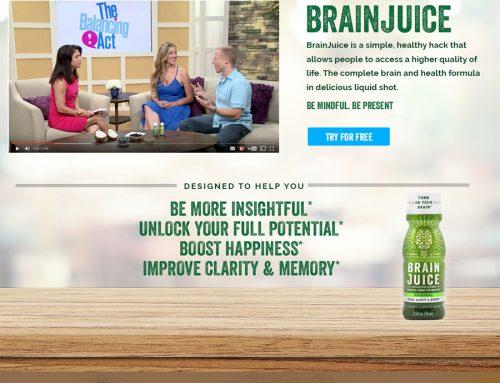 BrainJuice Free Trial Page